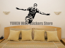 Anthony Martial Manchester United Football Art Decal Wall Sticker Picture Poster(China)