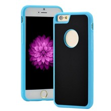Antigravity TPU Frame Magical Anti gravity Nano Suction Cover Adsorbed car Hard Case Shell For iPhone 6 7 7Plus