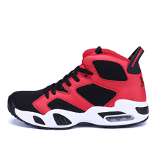 Men Women Basketball Shoes Breathable Athletic Basketball Sport boots For Male Female Cheap Basketball Footwear High-top Sneaker