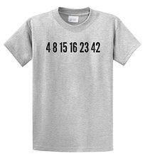 Cheap Tee Shirts Men's Fashion O-Neck Short-Sleeve Lost Numbers TV Show T Shirts(China)