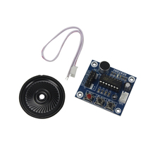 Smart Electronics ISD1820 recording module voice module the voice board telediphone module board with Microphones + Loudspeaker