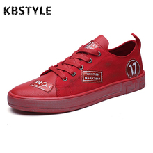 KBSTYLE Shoes Men 2017 Fashion Canvas Casual Red Shoes Mens LOGO Design Breathable Camouflage Shoes Summer Zapatillas Deportivas