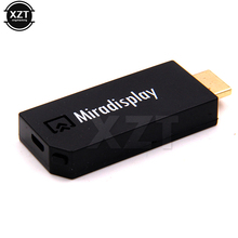 1pcs Hot Miradisplay TV Dongle 2.4GHz HDMI Mini WiFi Miracast Airplay DLNA 1080P (Full-HD) TV Stick For Phones Tablet PC(China)