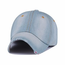 Good Quality 2016 New Fashion Women cowboy Baseball Cap Summer Style Lady Jeans Hats sport snapback sun hat