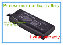 Rechargeable 11.1V 4500mAh Vital Signs Monitor ECG Medical battery for  LI23S002A T5 T6 T8