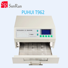 New Arrival PUHUI T-962 Infrared IC Heater T962 Reflow Solder Oven BGA SMD SMT Rework Sation T 962 Reflow Wave Oven