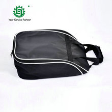 Golf shoes bag for men and women Breathable Black Golfbag Sports Equipment Travel Tote Bag Light-Weight Golf Shoes Package