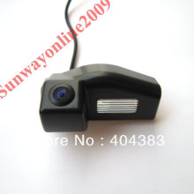 Free Shipping !!! Wireless SONY CCD Car Rear View Reverse Parking Mirror Image CAMERA for  Mazda 2 / Mazda 3 WITH Guide Line