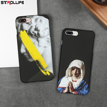 Buy STROLLIFE Retro Art Statue Virgin Maria Phone Case iphone 7 case Ultra Slim Hard PC Frosted Back Cover iphone 7Plus 6 6s for $2.45 in AliExpress store
