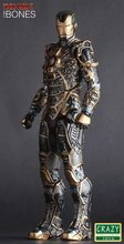 "Crazy Toys Iron Man 3 Mark XLI BONES MK41 1/6TH Scale PVC Collectible Figure Model Toy 12"" 30cm"