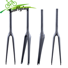 2017 carbon front fork1 1/8'' to 1 1/2' bicycle fork carbon road forks with UD weave 700*23C tapered carbon fork free shipping(China)