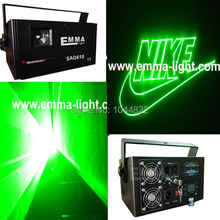 40kpps scanner/flight case packing/1W Green Outdoor Laser Projector Lighting/Green Laser Light  /skywriter laser