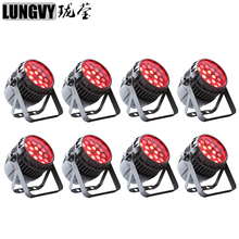Free Shipping (8PCS/LOT) Par LED 18x12W RGBW Quad Outdoor Led Par Zoom Waterproof Led Par