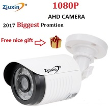 1PCS Zjuxin ahd camera 1080p 5*24 LED ahd 2mp camera with HD 3.6mm 1080p ahd camera lens and hd security CCTV Cam for you