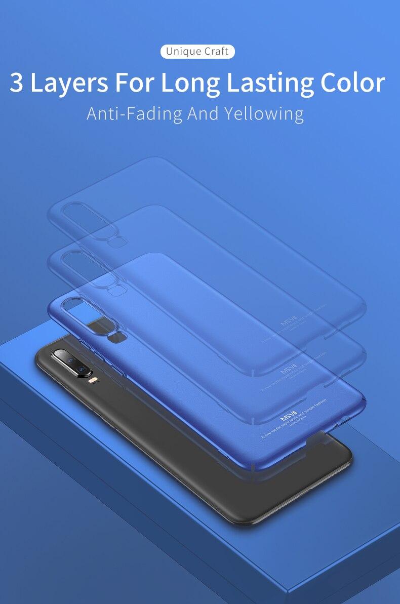 Huawei P30 Case for Huawei P30 Pro Case Hard P30 Lite Cover Slim Matte Back Cover Fingerprint Proof Fundas     (11)