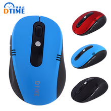 DTIME Brand 2.4G Wireless Mouse Gamer 6D USB Laptop Mice Optical Mause Gaming Cordless Mouse For Computer PC Office CS LOL Girl