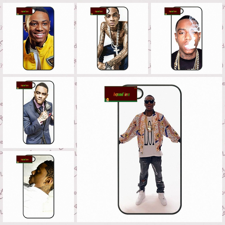 Soulja Boy Tell 'Em US rapper Cover case for iphone 4 4s 5 5s 5c 6 6s plus samsung galaxy S3 S4 mini S5 S6 Note 2 3 4  DE0208