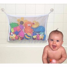 S/L Size Baby Bath Bathtub Toy Mesh Storage Bag Suction Bathroom Stuff Tidy Net Organizer New XQ_8 Drop shipping