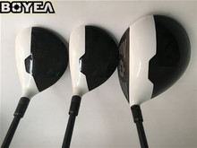 Brand New 3PCS Boyea M2 Wood Set Golf Woods Golf Clubs Driver + Fairways Regular/Stiff-Flex Graphite Shaft With Head Cover