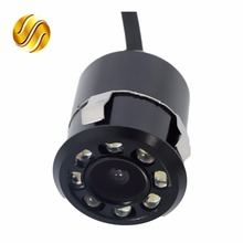 Car Rear View Camera With & Without LED Waterproof Auto Parking Assistance Reversing 170 Degree Mini Backup HD CCD Image Sensor(China)