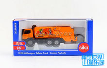 SIKU/Die Cast Metal Model/The simulation toy:The Cleaning car vehicle Garbage Truck/for children's gifts for collection/