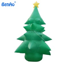 X032 BENAO Free +blower 6m inflatable Christmas Xmas santa Tree for outdoors decoration(China)