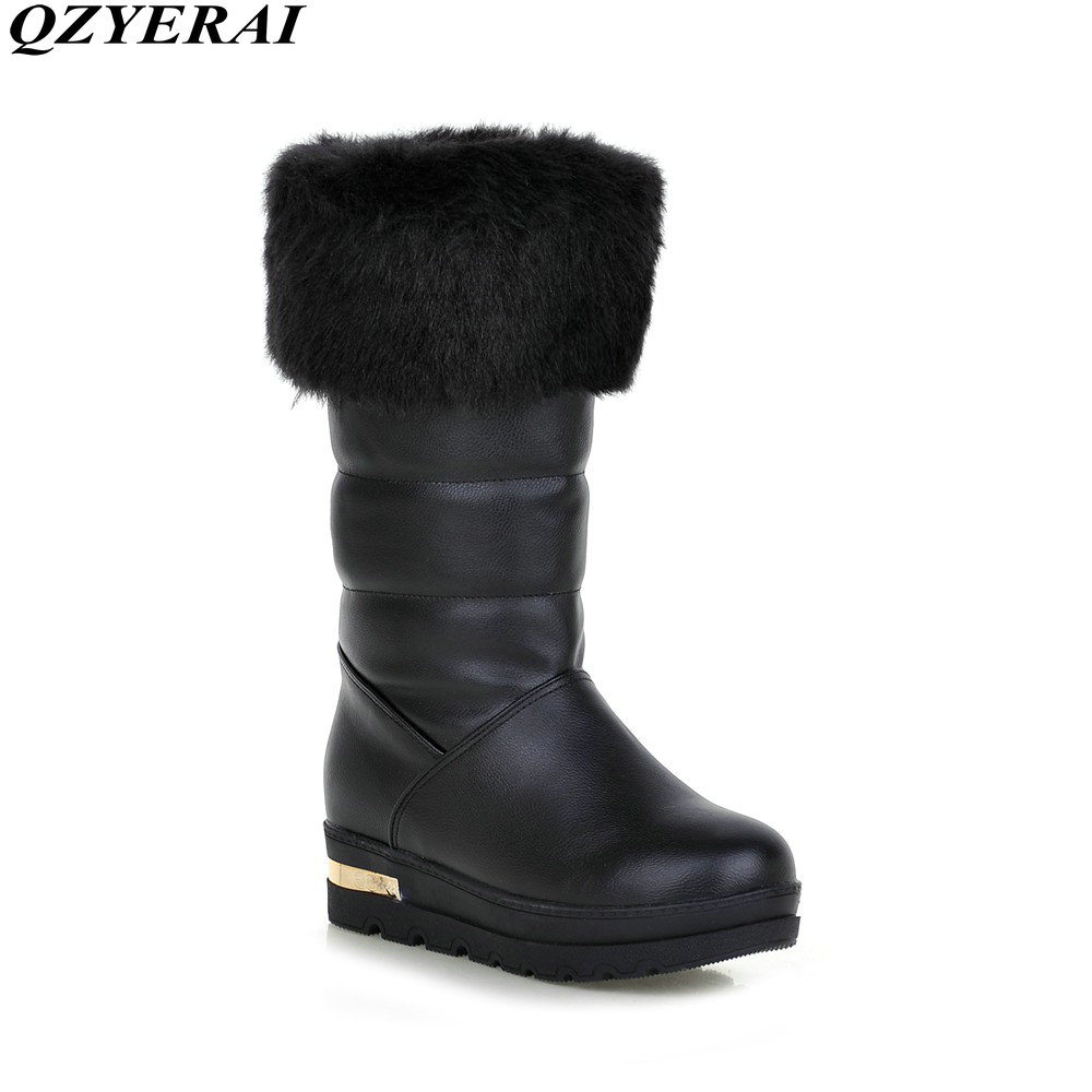 QZYERAI Winter super warm snow boots anti-skid soles waterproof boots -40 degrees of snow walking in the snow is warm<br>