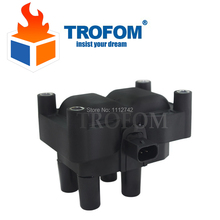 Ignition Coil For FORD C-MAX II FIESTA V VI FOCUS FUSION GRAND MONDEO Volvo C30 S40 V50 MAZDA 2 1.25 1.3 1.4 1.6 16V 0221503485