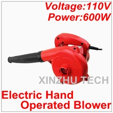 110V Electric Hand Operated Blower Computer Cleaner Electric Blower Computer Vacuum Household Cleaner Suck Blow Dust Remover