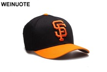 3 Styles Men's San Francisco Giants Strapback Black Hats Sport classic Fashion Orange SF Letter Baseball Hat Caps For Women