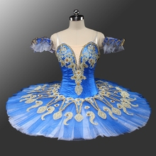 New Arrivals costumes skit dress child adult professol tutu de danse girls romantic dress danseballet tutu woman ballet blue