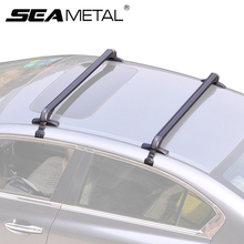 Car Roof Racks Luggage Universal Aluminum Alloy Roof Racks Bars Travel Organizers Boxes Rack For Automobile Exterior Accessories(China)