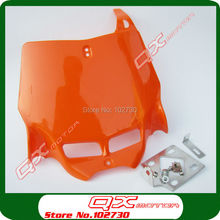 front Number Plate for Plastic Cover for Kayo Apollo Bosuer Xmotos zongshen shineray 250cc Dirt Bike Motorcross free shipping