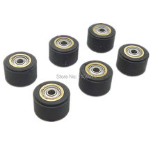 6pcs Copper Core Pinch Roller 3 x 11 x 16mm Hole Dia 3mm For Roland Vinyl Plotter Cutter Cutting Engraving Machine Printer Parts