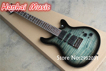 Hot Sale Custom Electric Guitar,Flame Maple Veneer,Bird Fret Marks Inlay,24 Frets,Mahogany Body,can be Customized