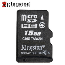 Original Kingston Class 4 16GB 8GB Micro SD Card MicroSDHC TF Flash Memory Card Mini SD Card tarjeta Microsd Card 16 GB 8 GB
