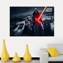 Hot Sell Star Wars Silk Canvas Poster cloth for Home Decorative painting And Custom Print your image SQ0426-ZHH-01