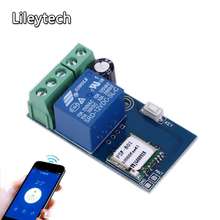 DC 12V Wireless WiFi Relay Switch Module Mobile Phone Remote Control Timer Self-Lock Low Power For Android IOS Smart Home(China)