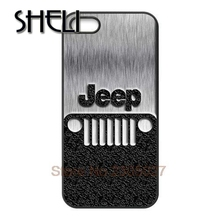 SHELI Jeep Custom Rubber Back cellphone case cover for Iphone 4S 5 5S 5C 6 Plus for Samsung galaxy S3 S4 S5 S6 Note 2 3 4(China)