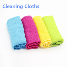 4pcs/pack New Eco-Friendly Washing Towel Magic Kitchen Cleaning Wiping Rags No Oil Rag Furniture Kitchen Cleaning Product Cloths(China)