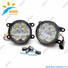 Branded New Aluminium alloy fog light led for cars, 32W fog lamp driving light for SUZUKI SX4, for MITSUBISHI(China)