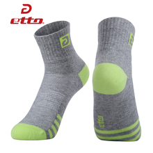 ETTO Brand 4 Pairs / Lot Women Cotton Cycling Running Socks Absorb Sweat Deodorant Sports Socks Lady Girl Athletic Sox HEQ024