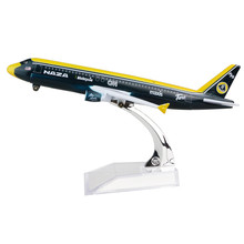 Airplane NAZA Malaysia Lotus A320 Airlines passenger plane alloy model 16cm/6.3in