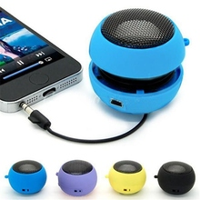 Universal Portable Wired Subwoofer Speaker.5mm Plug Mini Hamburger Computer Bass Speaker For iPhone For iPad For Samsung