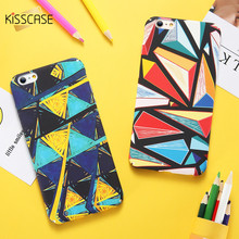 KISSCASE Fashion Phone Case For iPhone 6 6s iPhone 5 5s Case Cool Hard Plastic Back Cover For iPhone 7 7 Plus iPhone X Fundas(China)
