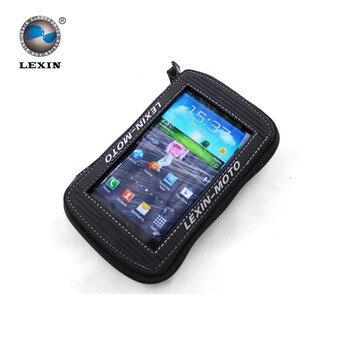 """Marque Lexin 5.5 """"noir Moto Sac de Réservoir de Mazout Magnétique selle sac pour Iphone6 6 plus Samsung Glaxy S3 S4 Note2 3"""