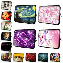 7 10 12 13 15 17 17.3 inch Laptop Sleeve Notebook Sleeve Pouch Bag Tablet Case Cover For 7 15.6 13.3 Dell HP Dell