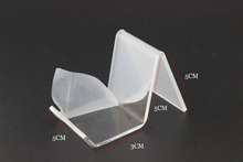 Clear Acrylic mobile cell phone display stand holder rack 50PCS phone holder rack