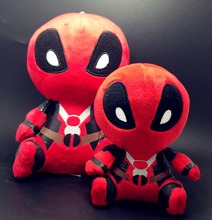 1pc 20cm Marvel Movie Deadpool 2016 Soft FUNKO POP Deadpool Spiderman Plush Doll Toy Figure  action figure