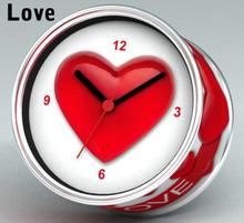 [In Stock] Love Magnetic Cheap Wall Clocks,Cheap Desk Clocks,Cheap Table Function Clocks in Free Shipping